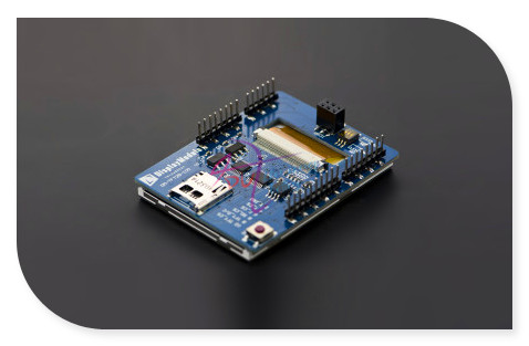 DFRobot 2.8 inch TFT Touch Shield Display Module with 4MB Flash for Arduino and mbed