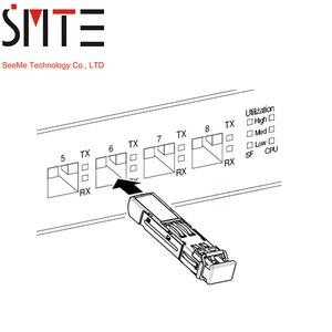 Image 5 - 1 пара 1,25G BiDi SFP TX1490nm/RX1310nm TX1310nm/RX1490nm LC совместимый FTM 9912C SL10G модуль приемопередатчика SFP для OTDR