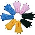 Garras de los animales de dibujos animados zapatillas Paw zapatos colección para los niños o adultos para Stitch jirafa vaca Pikachu dinosaurio tigre oso Cosplay