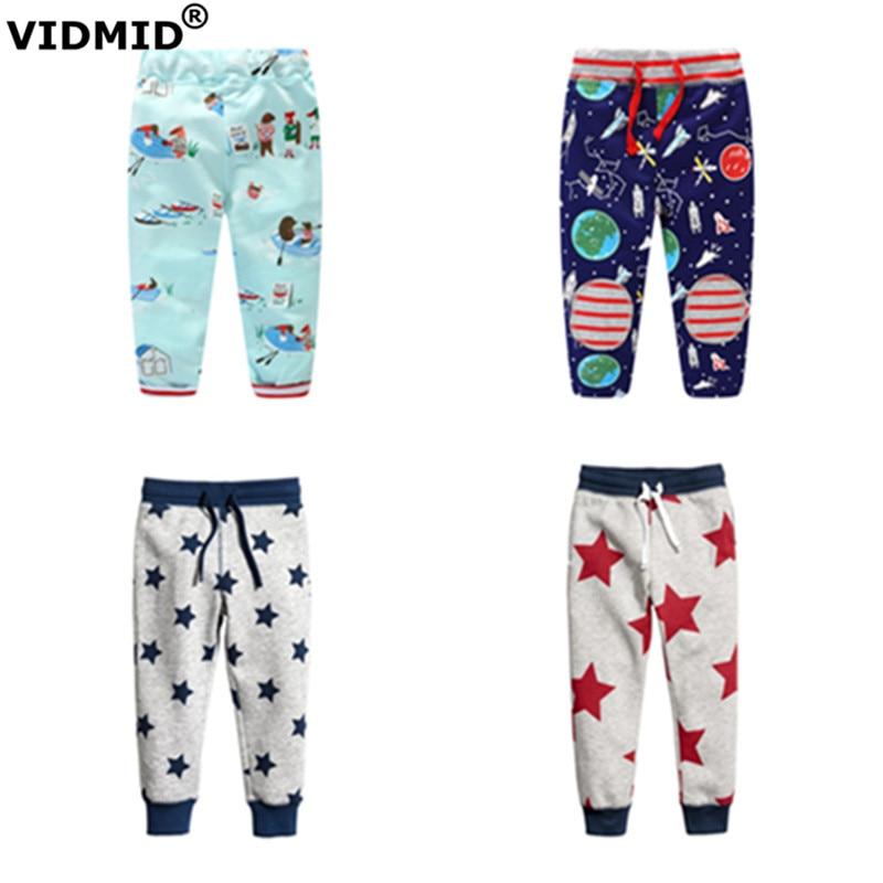 VIDMID Baby Boys Pants Cotton Autumn Brand Toddler Boys Clothes Harem Pants Trousers Children trousers full length trousers стоимость