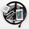 300 Remotenon-waterproof led strip LED 5M RGB 3528 rgb led strip+24 key IR