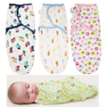 12 styles!2017 New Spring and Summer Cotton Infant Soft and Comfortable Baby Sleeping Bag Variety of Styles 62*28cm TRQ0491