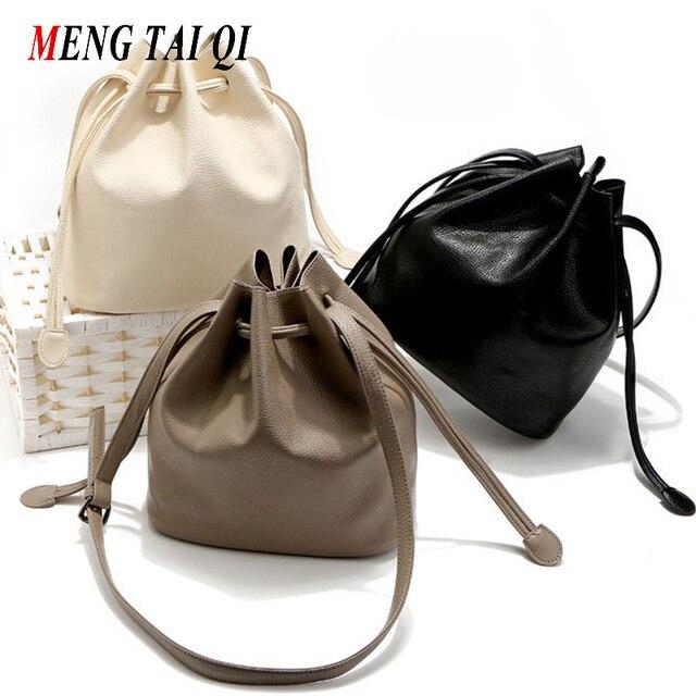 Drawstring Ведро сумка женская кожа небольшая сумка на плечо crossbody сумки для женщин сумки посыльного сумки женщины известных брендов 4