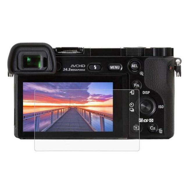 Protector de vidrio templado para pantalla de protección de película para Sony Alpha A6600 A6000 A6100 A6300 A6400 A5000 NEX 7/6/5/5N/5T/5R/3