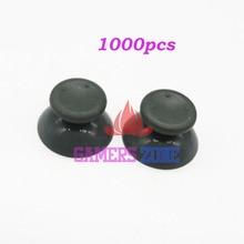 1000個ジョイスティックサムスティックグリップキャップマイクロソフトxbox 360コントローラーグレー