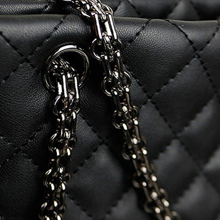 Aliexpress Buy Micom Vintage Black Diamond Lattice Quilted