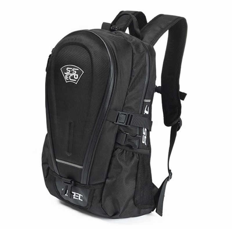 O envio gratuito de moto rcycle saco mochila moto moto rcycle saco capacete + capa à prova d' água