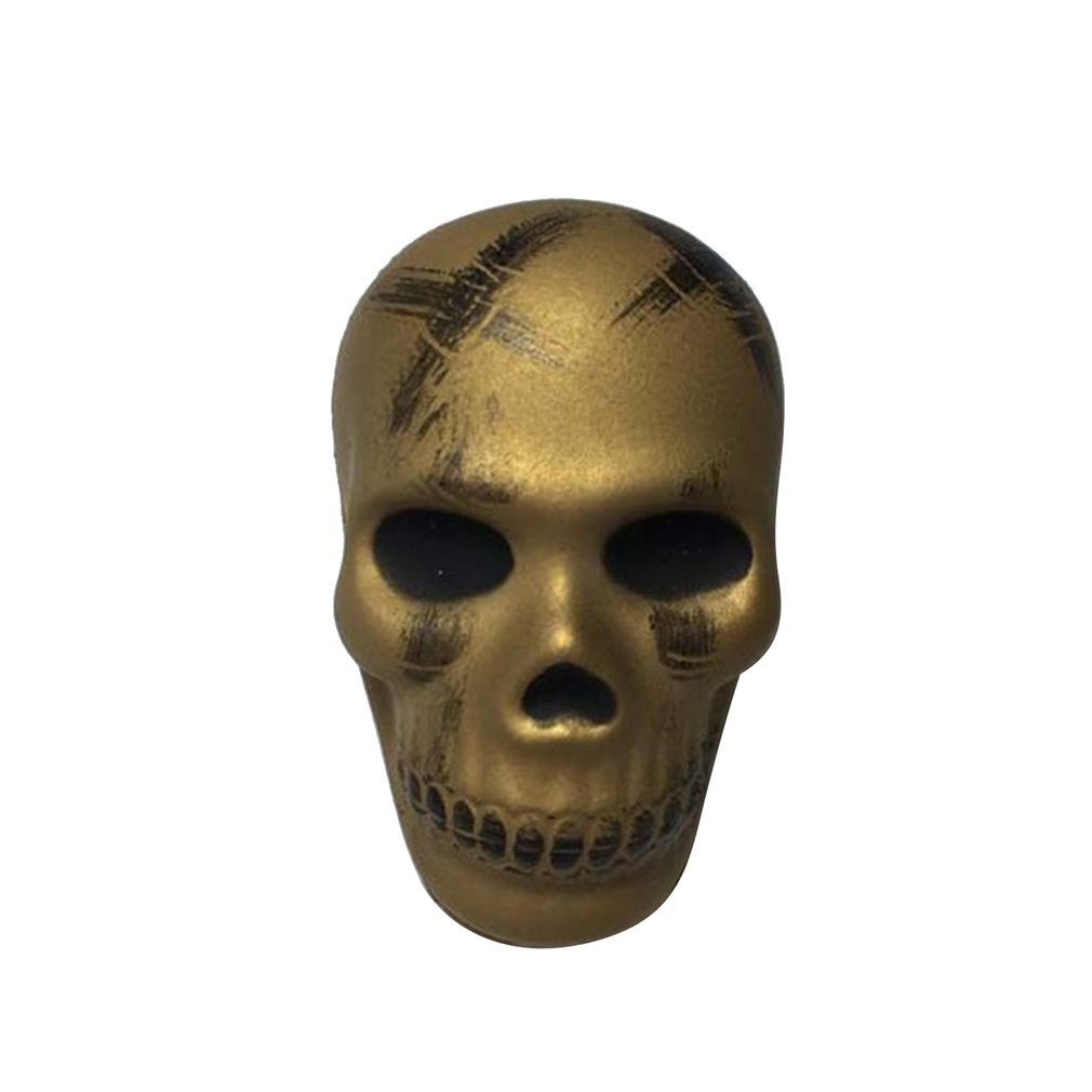 8.5CM Squishy Halloween Skull Head Slow Rising Soft Colorful Squeeze Bread CakeKid Christmas Toy Gift Anti-Stress Toys