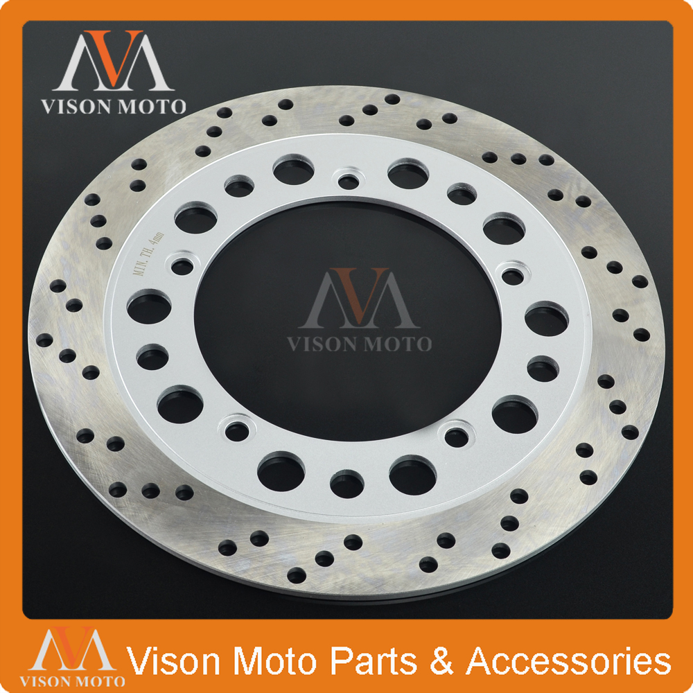 Motorcycle Front Brake Disc Rotor For NV400 NV 400 1992 93 94 95 96 97 VT600 VT 600 1993 1994 1995 1996 1997 1998 1999 2000 motorcycle brake parts brake pads for honda nv400 nv 400 cj ck steed 1992 1993 front motor brake disks fa124