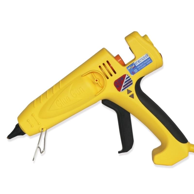 EU US Plug 300W 400W 500W High Power Hot Melt Glue Gun Craft Repair Tools Heat Glue Gun with 11mm Glue Sticks Industrial rod in Glue Guns from Tools