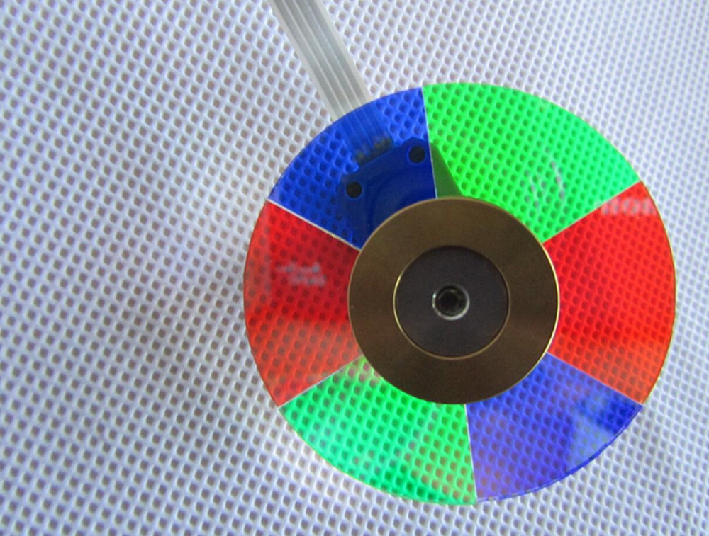 Free Shipping ! NEW original DLP Projector Color Wheel For BenQ W1080ST Color wheel 1PCS new original dlp projector colour color wheel model for benq mp770 color wheel