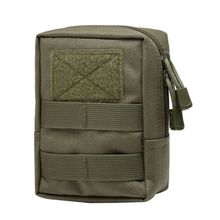Outdoor 1000D Military Tactical Waist Bag Multifunctional EDC Molle Tool Zipper Pack Accessory Durable Belt Pouch