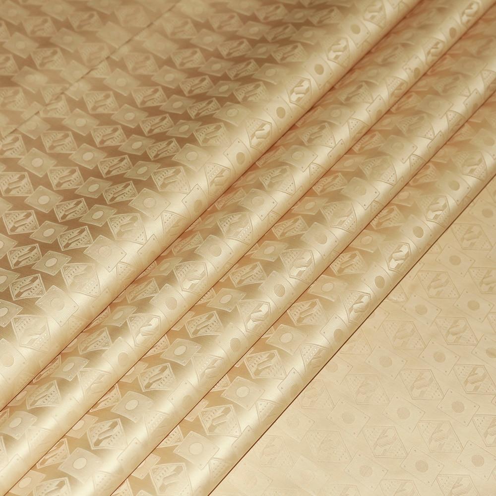 بازان الثراء النسيج الكاكي اللون 10 Meters عالية الجودة غينيا الديباج الملابس الأقمشة 100% القطن مع العطور-في قماش من المنزل والحديقة على  مجموعة 3