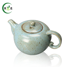 280ml Ceramic Teapot Cha Hu With Handle Puer Tea Teapot Oolong Tea Teapot