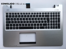 CF Canada-French keyboard for Asus S550 S550CM with silver palmrest cover laptop keyboard CF Layout стоимость