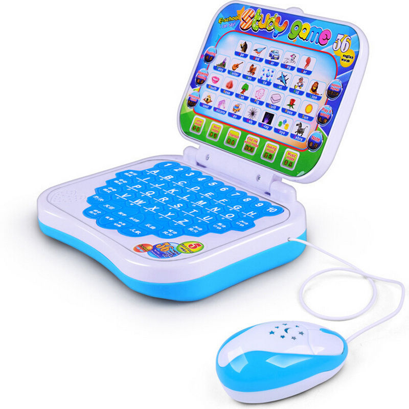 Electronic Baby Kids Children Learn English Machine Laptop Computer Toy Education Baby Kids Gift