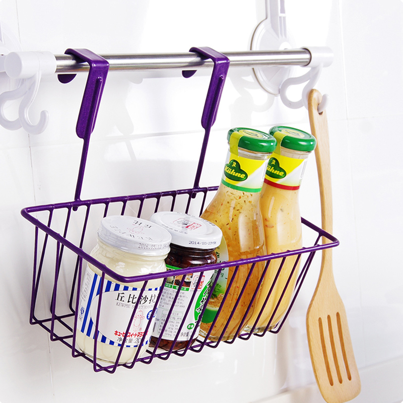 Multifunctional Iron Over Door Storage Rack Practical Kitchen Cabinet  Drawer Organizer Door Hanger Storage Basket Kitchen Tools In Storage  Holders U0026 Racks ...