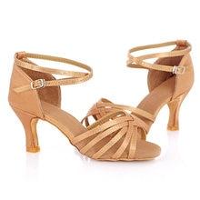 Woman Latin Dance Shoes Ladies Girls Sneaker Dancing Shoes For Women Jazz Ballroom Salsa Dance Shoes 4 Colors About 5cm/7cm Heel