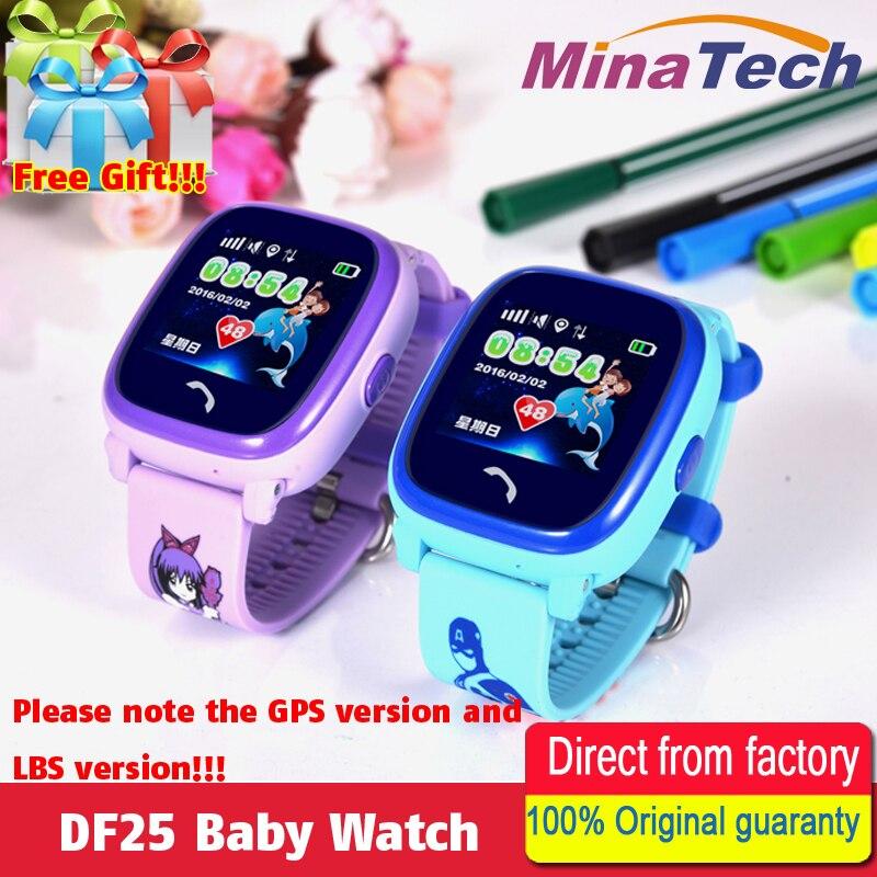 DF25 Waterproof Kids Smart Watch GPS Smart Baby watch SOS Call Location Device Tracker Kids Safe Anti-Lost Monitor PK Q100 Q90