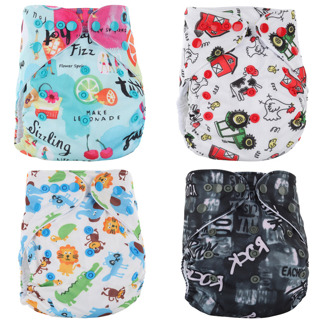 Washable Baby Cloth Diapers Couches Lavables Baby Diaper Pockets