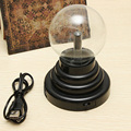 Comercio al por mayor 1 UNID USB Electrostática Diseño Único de Cristal de Plasma Esfera de la Bola Mágica Bola de Juguete Divertido