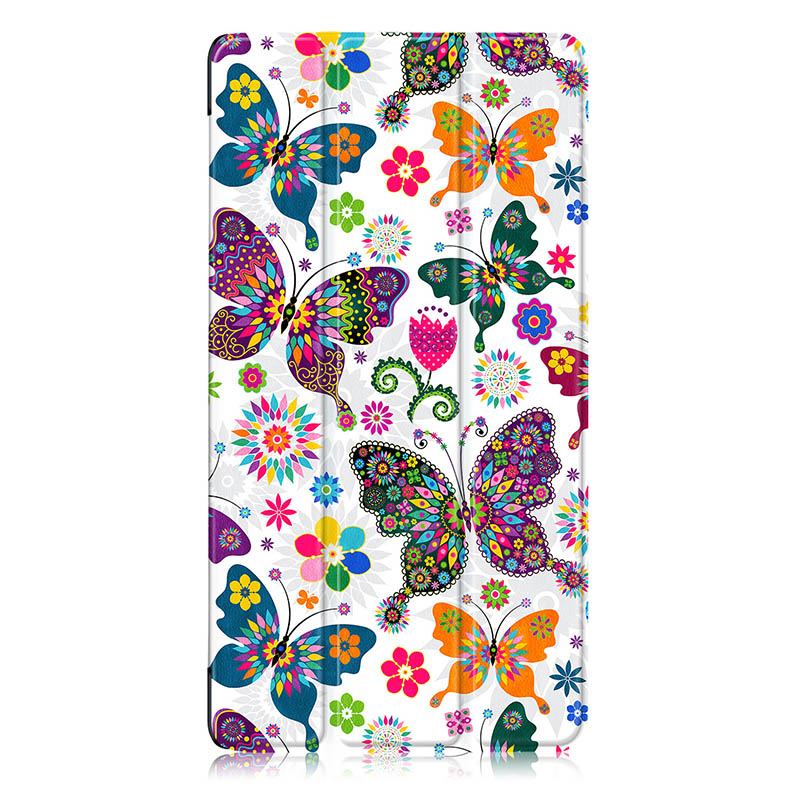 Fashion Print <font><b>Case</b></font> <font><b>For</b></font> <font><b>Lenovo</b></font> <font><b>Tab</b></font> 4 <font><b>Tab</b></font> <font><b>7</b></font> TB-7504F/N/X Folding Flip Cover <font><b>tab</b></font> <font><b>7</b></font> 7504F 7504N <font><b>7504X</b></font> <font><b>Tablet</b></font> Protective Cover image