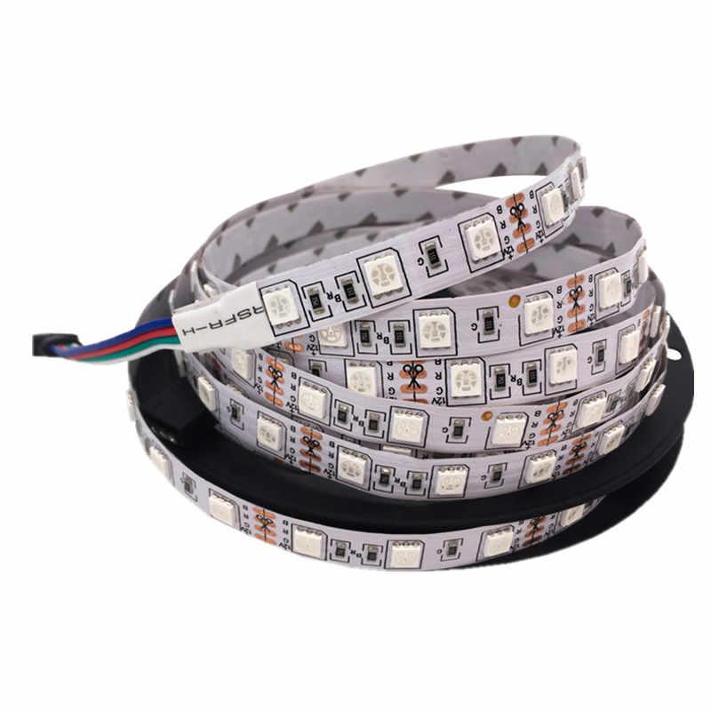 5m neon ribbon LED light strip RGB tape SMD5050 LED Flexible light strip 12v warm white red blue green Decorative lights