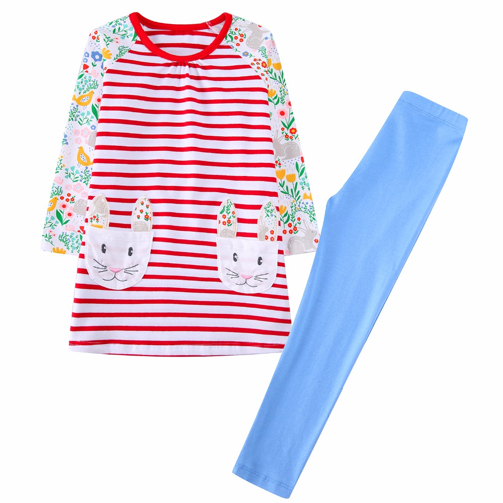 Oklady Girls Clothe Children Clothing 2017 Brand Toddler Girl Clothing Set Roupas Infant ...