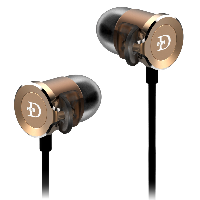 DUNU DN 2000 HIFI Earphones Triple Drivers IEM Premium Hybrid 3way in-Ear eadphone xiaomi hybrid dual drivers earphones 2 black