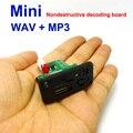 5 В 7-12 В Мини Mp3-плеер Модуль с USB TF MP3 WAV Без Потерь декодирования доска O2