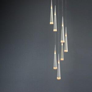 Image 5 - Led Pendentif Lampe dimmable lampes Suspendues Îlot De Cuisine Salle À Manger Boutique Comptoir de Bar Décoration Cylindre Tuyau Cuisine Lumières