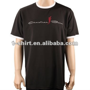 mens short sleeve t shirt suitable for sport comfortable and quick-drying