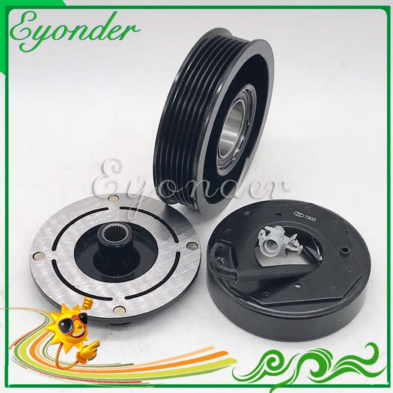 A C Air Conditioning Compressor Electromagnetic Magnetic Clutch Pulley for BMW E90 E91 E92 E93 F31