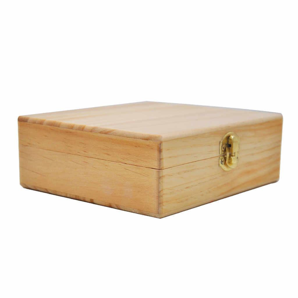 Lagerung Box Holz Stash Box Mit Roll Tablett Große Und Perfekte Zu Organisieren Ihre Zubehör Unisex Hohe Qualität währung 19JUL1