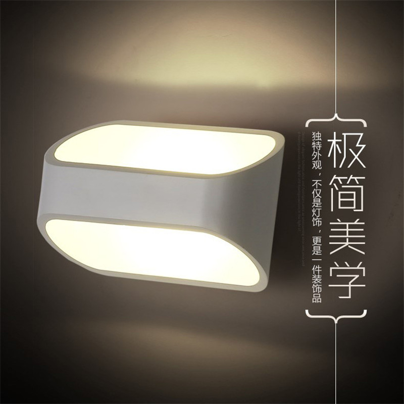 The Best Led Mirror Lamp Europe Simplicity Modern Bedside Wall Bathroom Sconce Lighting Modern Decoration Wall Mounted Indoor Lighting Warm And Windproof Led Lamps Lights & Lighting
