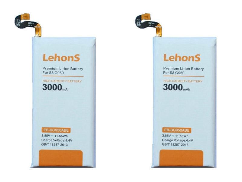 Lehons EB-BG950ABE Replacement-Battery G9550 Samsung Galaxy 3000mah For S8/S/8-g9508/..