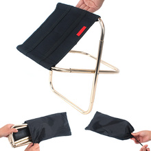 Portable Folding Chair Seat Aluminum Alloy Outdoor Fishing Camping Picnic Beach Foldable Chairs TT-best все цены