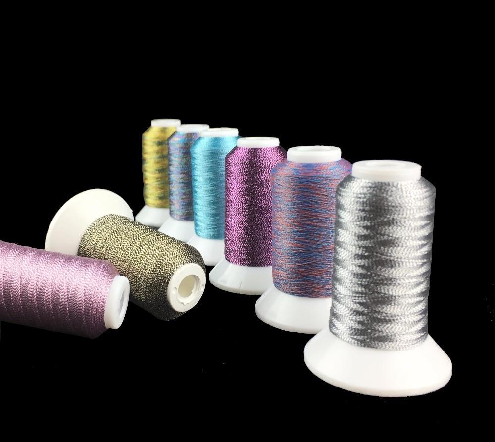 Simthread 40 Spools Polyester Embroidery Thread for Brother Babylock Janome Singer Pfaff Husqvaran Bernina Machines 550Yards per Cone