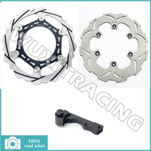 for Yamaha WR YZ125 250 YZ250F WRF 250 WR 450F 426F YZF 450 426  Oversize 270mm Front Rear Brake Disc Rotor Bracket Adaptor