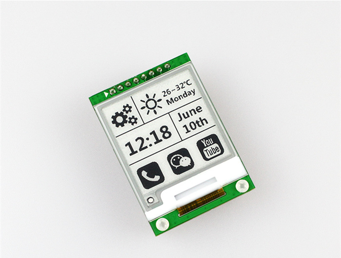 200X200 Resolution Electronic Ink Display Module 1.54 Inch For Eink Bluetooth ZigbeeWiFi CC2640 Development Board E Ink EPaper