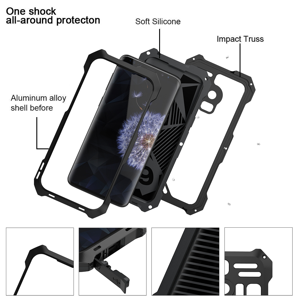 Ascromy For Galaxy S9 Lens Kit Case Fisheye Macro Wide Angle Shockproof Aluminum Cover For Samsung S8 Plus S7 edge Accessories (6)