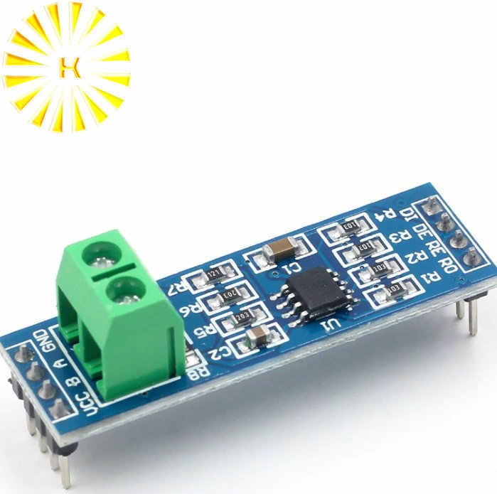 MAX485 Module RS-485 TTL Turn To RS485 MAX485CSA Converter Module For Arduino Microcontroller MCU Accessories Connector
