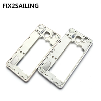 New Middle Plate Frame Bezel Housing Side Button Camera Glass Lens For Samsung Galaxy Alpha G8508S