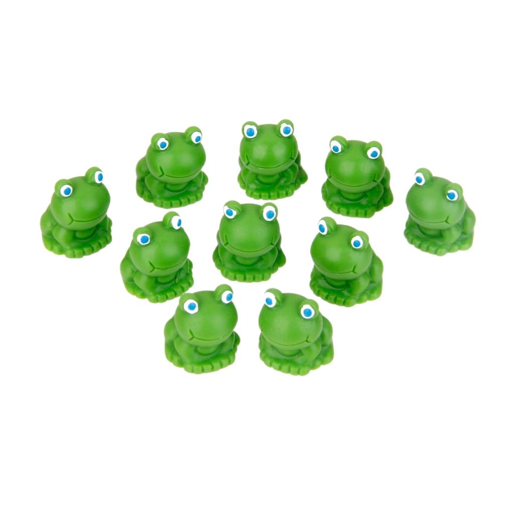 Blue Eyes Frogs Miniature Garden Yard Lawn Ornament Decoration Figurine DIY 5pcs