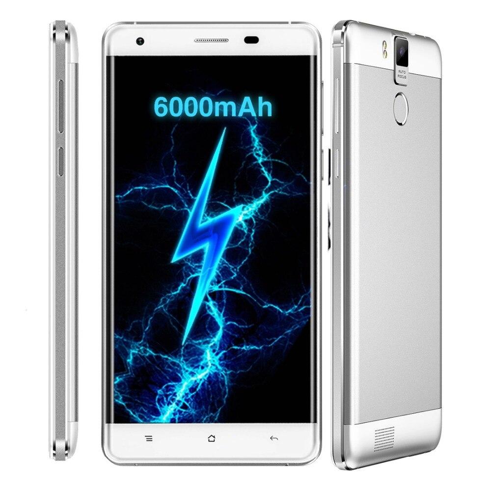 6000mAh Smartphone OUKITEL K6000 Pro 4G LTE 32GB ROM 3GB RAM 5 5 inch 1080 1920