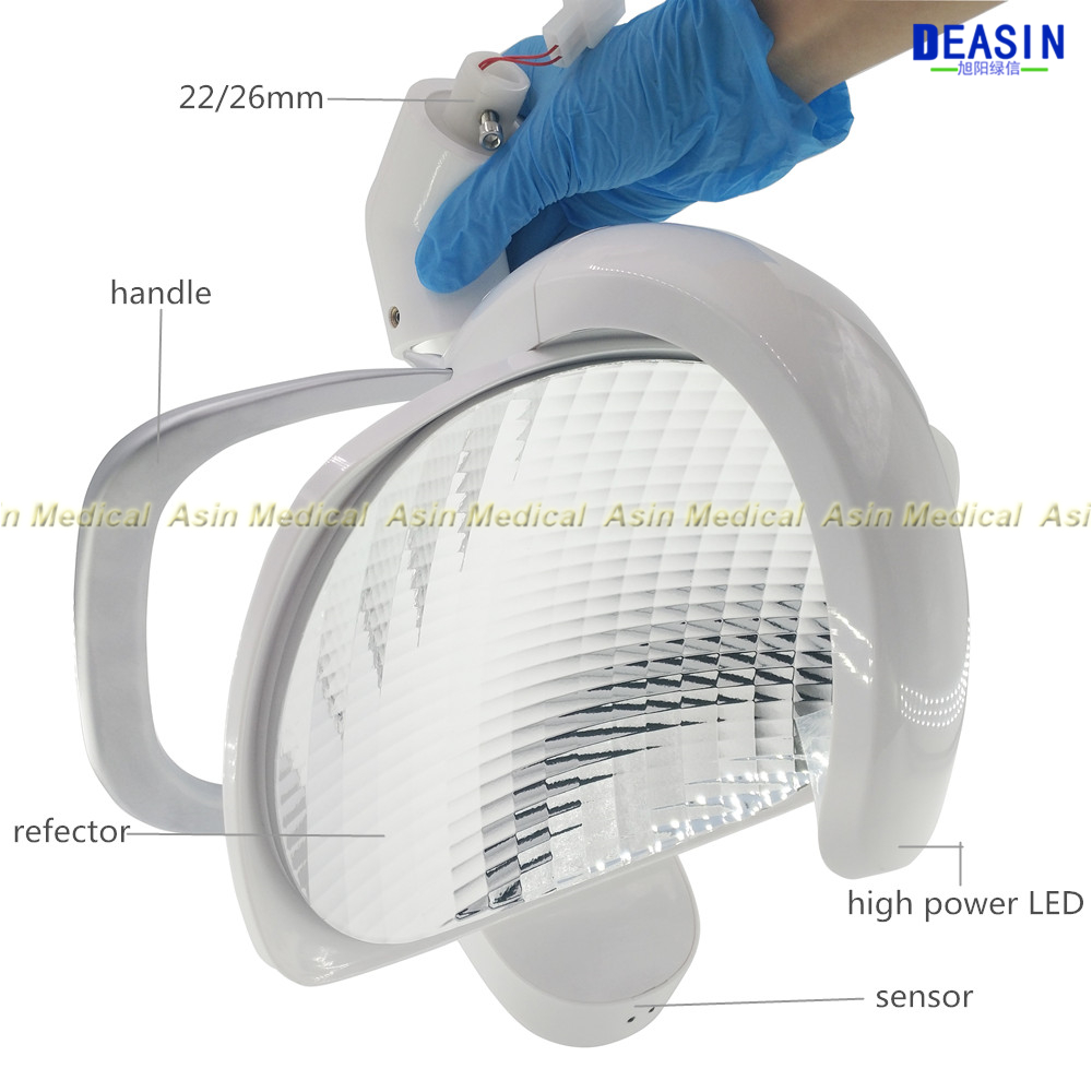 HIGH QUALITY New COXO Dental Oral Light LED Lamp Reflective Soft Light Clinic Surgical for dental chair HIGH QUALITY New COXO Dental Oral Light LED Lamp Reflective Soft Light Clinic Surgical for dental chair