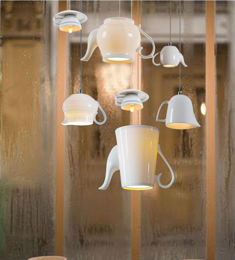 Moderne Pendentif Lumieres Tom Dixon Verre Lampe Suspendue Pour