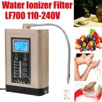110 240V Steel LF700 Water Ionizer Purifier LCD Tou.ch Control Alkaline Acid PH Adjust Machine AU/US/EU Plug