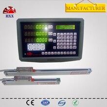 Gcs899-3ay hxx nuevo conjunto 3 ejes dro pantalla lcd digital codificador y 3 unids gcs898 0-1000mm escalas lineales para torno/molino/edm máquina