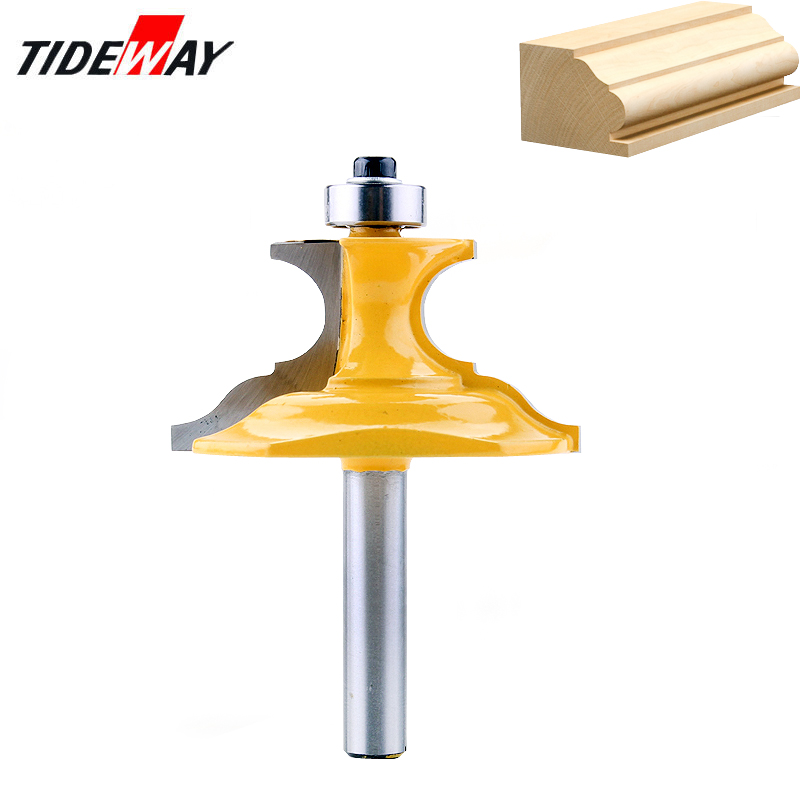 Table Chairs Casing Molding Router Bit 8mm Shank Woodworking Cutter Tool